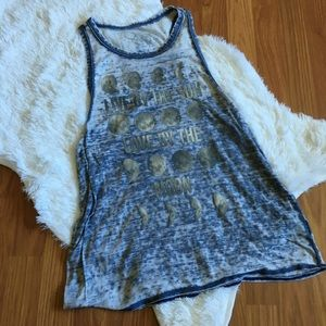 Live By The Sun Love By The Moon Tank